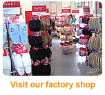 Visit our factory shop in Pontlottyn, South Wales, UK